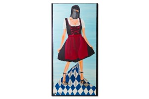 Acryl auf Leinwand, 60 x 120
