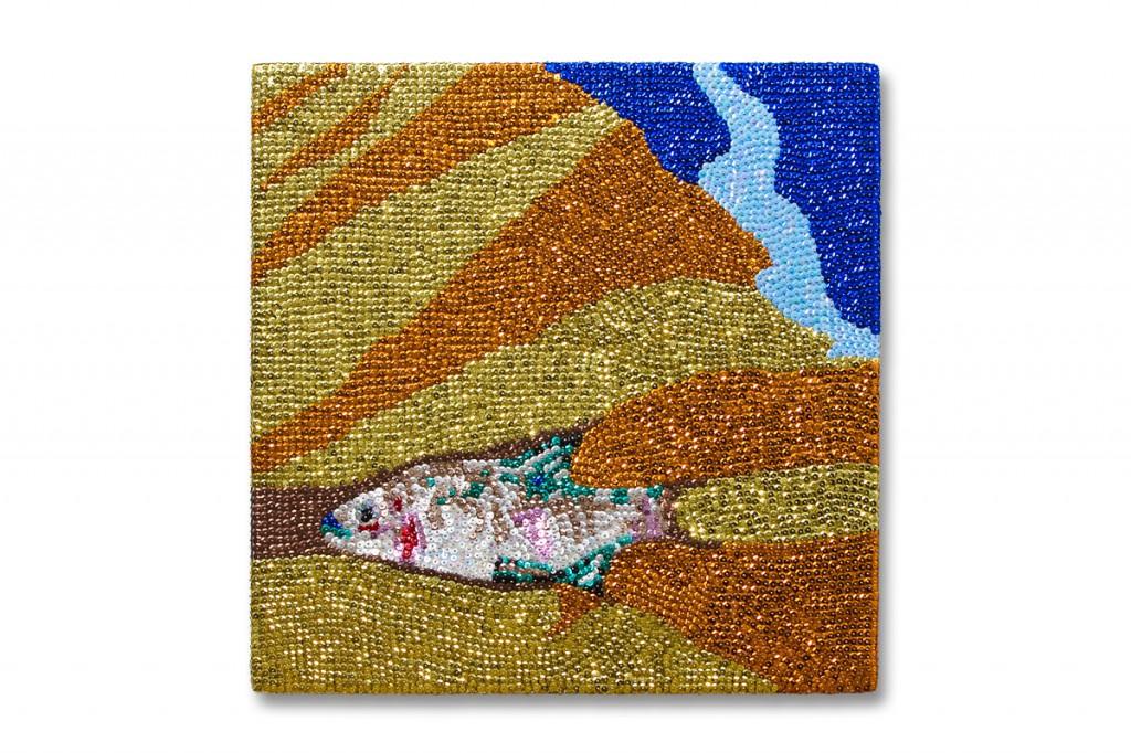 Paillettenfisch