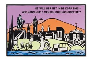 Postkarte Höchst Bismarck
